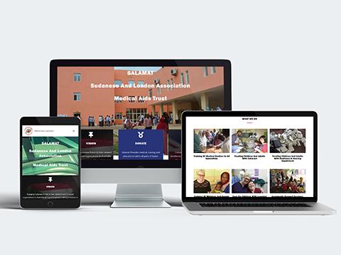 Web design portfolio salamat
