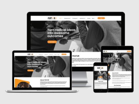featur labs web design