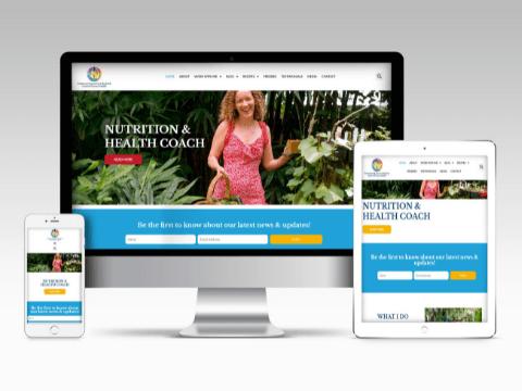 Melanie Eager Web design